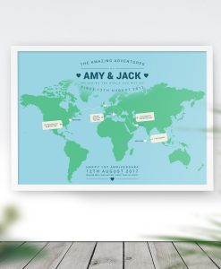Personalised Travel Maps