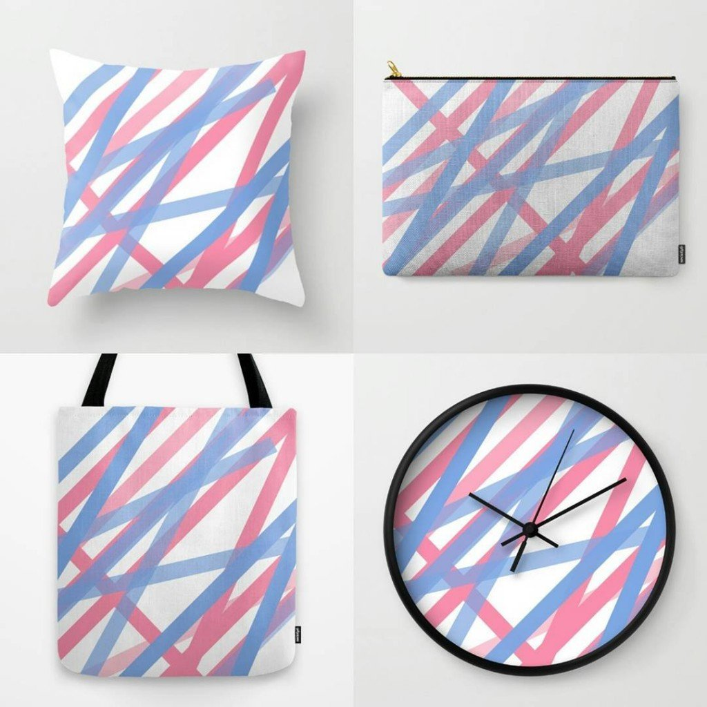 worped creative design products society6