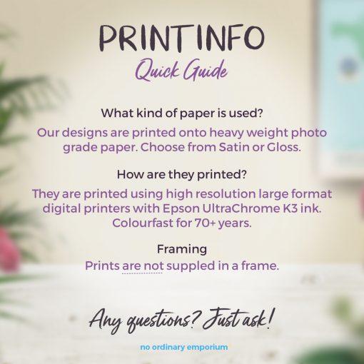 Print details