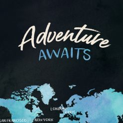 Adventure Awaits Travel Journal