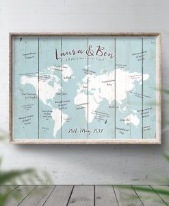 Places We've Been Travel Map