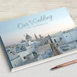 Custom Photo Wedding Guestbook