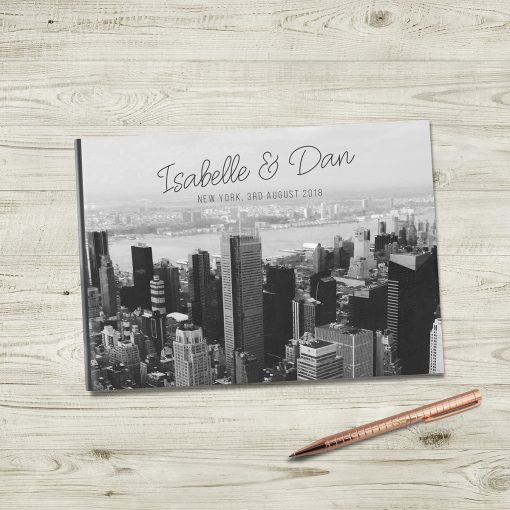 Custom Photo Wedding Guestbook