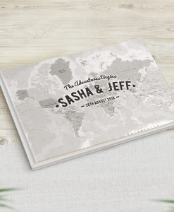 Travel Wedding Guestbook