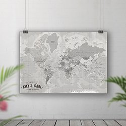 Pin Board Maps