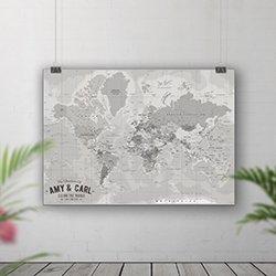 Pin Board Maps