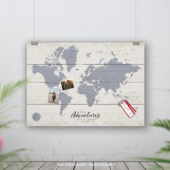 Push Pin Travel Map