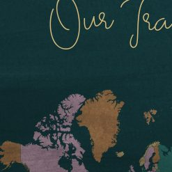 Our Travels Travel Journal With Maps
