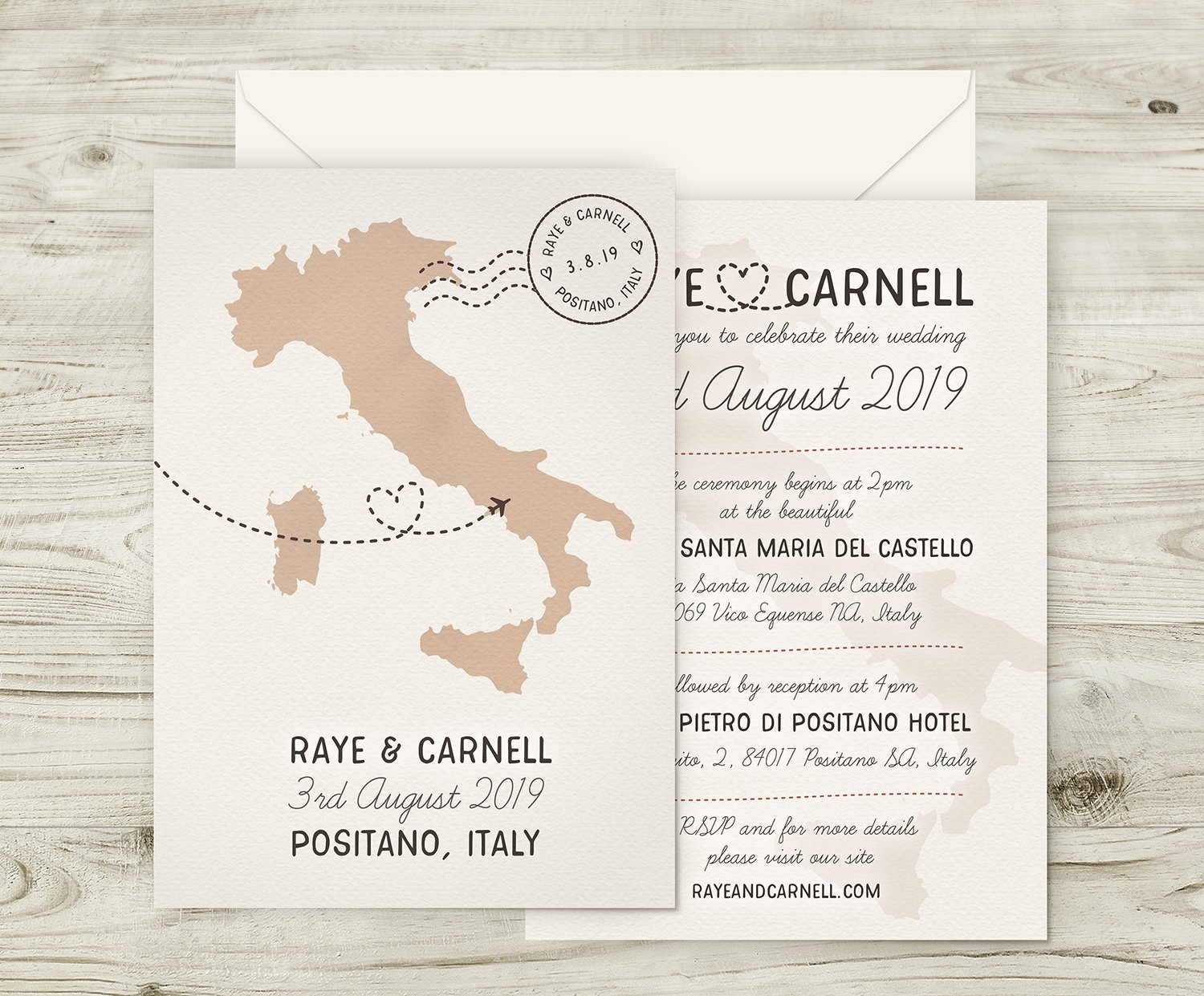 Italian Wedding Invitations