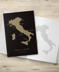 Custom Italy Travel Journal