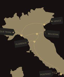 Custom Italy Travel Journal