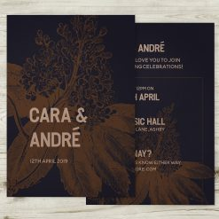 Summer Night Wedding Invitations