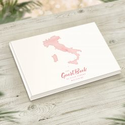 Italian Holiday Home Visitor Guestbook