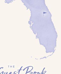 Orlando Florida Holiday Home Visitor Guestbook