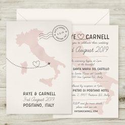 Italian Wedding Invitation