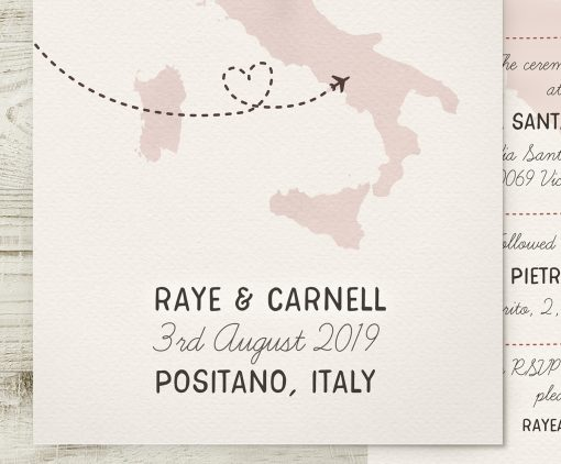 Italian Wedding Invitation
