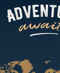 Adventure Awaits Travel Journal