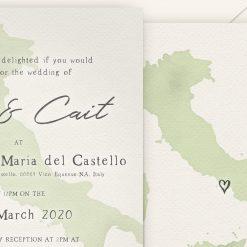 Italy Wedding Invitations