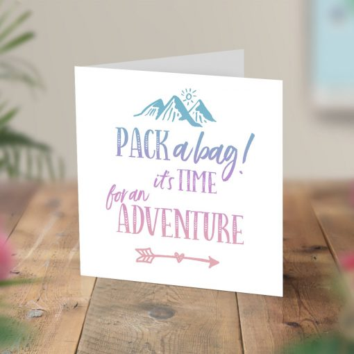 Surprise Trip Card Scratch Reveal