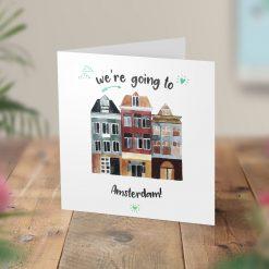 Amsterdam Surprise Trip Card
