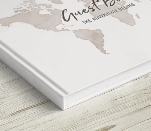 Guest Book Travel Theme