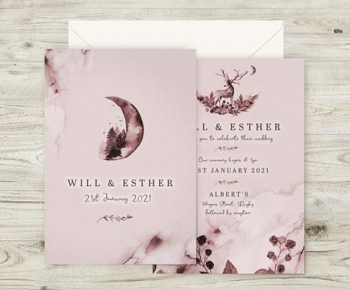 Enchanted Woodland Invitations