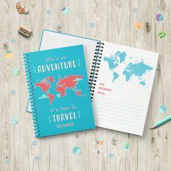 Adventure Travel Journal Gift