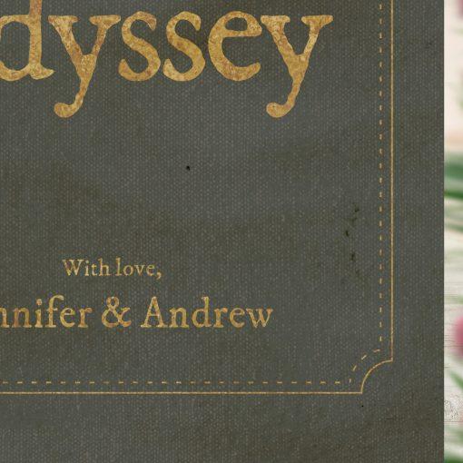 Favourite Novel Book Themed Wedding