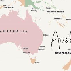 Personalised Push Pin World Map
