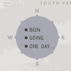 Grey Detailed World Map Pin Board