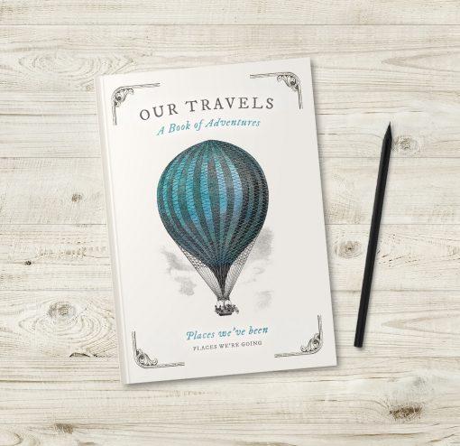Vintage Hot Air Balloon Journal