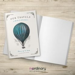 Vintage Hot Air Balloon Journal