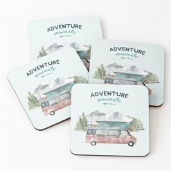 Adventure Awaits Campervan Coasters