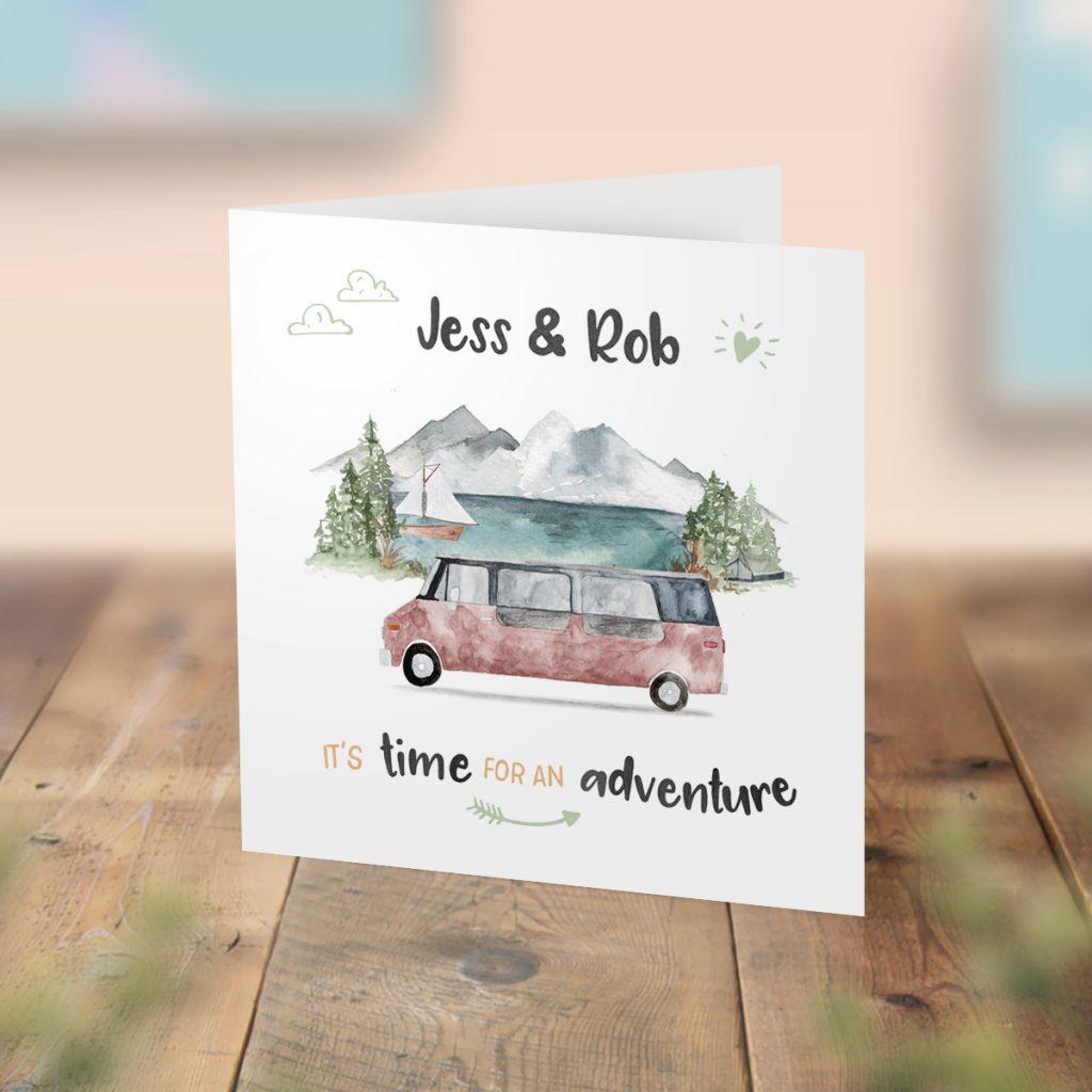Personalised Campervan card