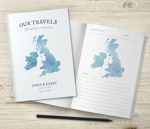 UK Map Travel Journal