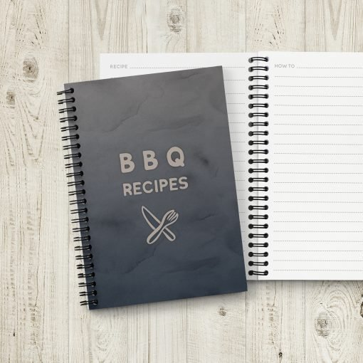 BBQ Grill Recipe Book
