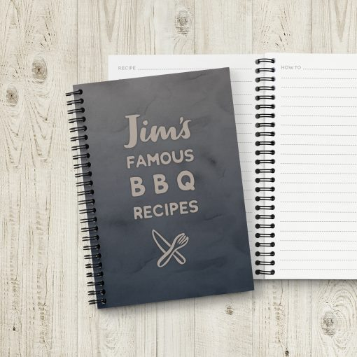 Personalised BBQ Grill Recipe Book