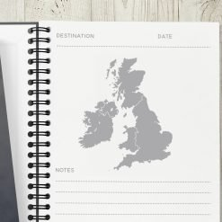 Personalised Travel Notes Journal